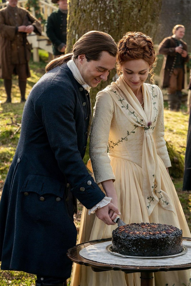In honor of their show nuptials, the rest of this week has a #TheMacKenzies theme.  #Outlander DM me any possible questions. Might be harder to go spoiler free but I'll try.pic.twitter.com/eHLV8luglf
