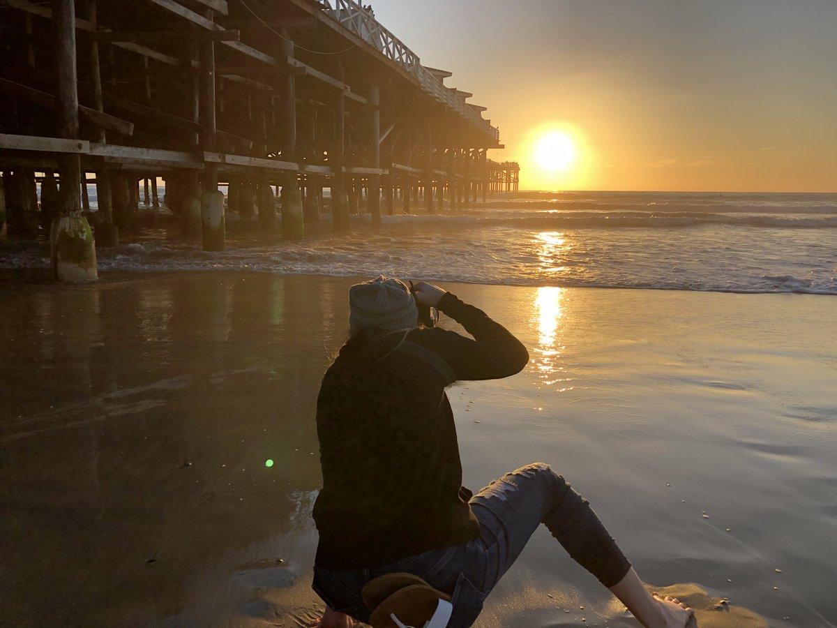 Sunset with @hayleyocho