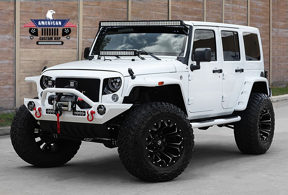 @drnickgreiner This is my dream Jeep - color, lift, red accents, wheels, lights, everything.