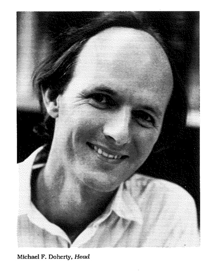 """Seminar in @CMU_ChemE tomorrow (10:30am DH A302) """"Chemical Process Synthesis from Alan Turing to Martin Feinberg"""" by Mike Doherty @UCSBChE . A pic that is a few days early for #TBT"""