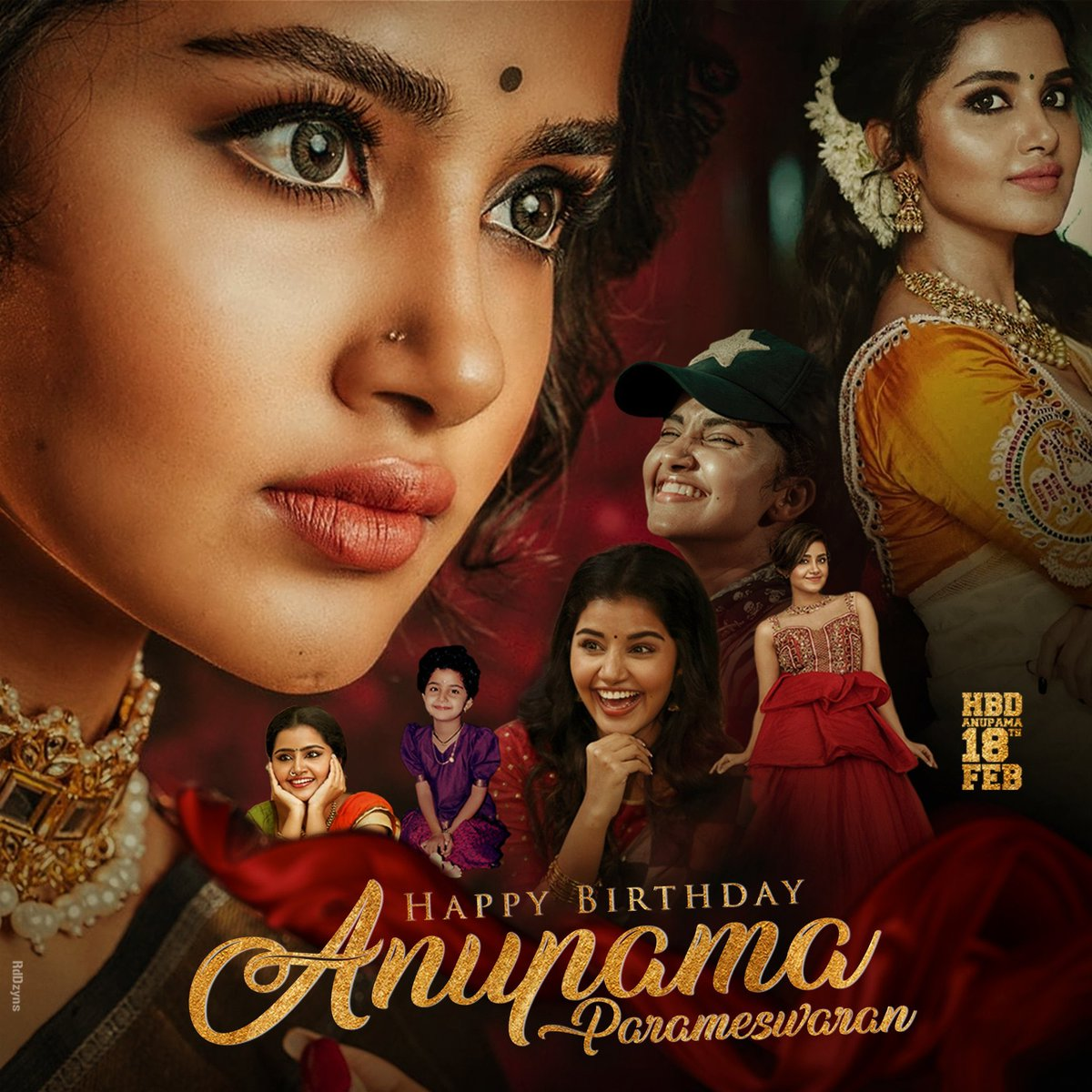Wishing you a Very happy birthday @anupamahere From @PuneethRajkumar Fans. I hope you Have a great year ahead All the best your Future projects @anupamahere Mam 👍  #HappyBirthdayAnupama #AnupamaParameswaran #PuneethRajkumar  #Yuvarathnaa
