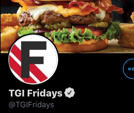 Why does the new TGI Fridays logo look like it's about to be relegated from the Premier League.