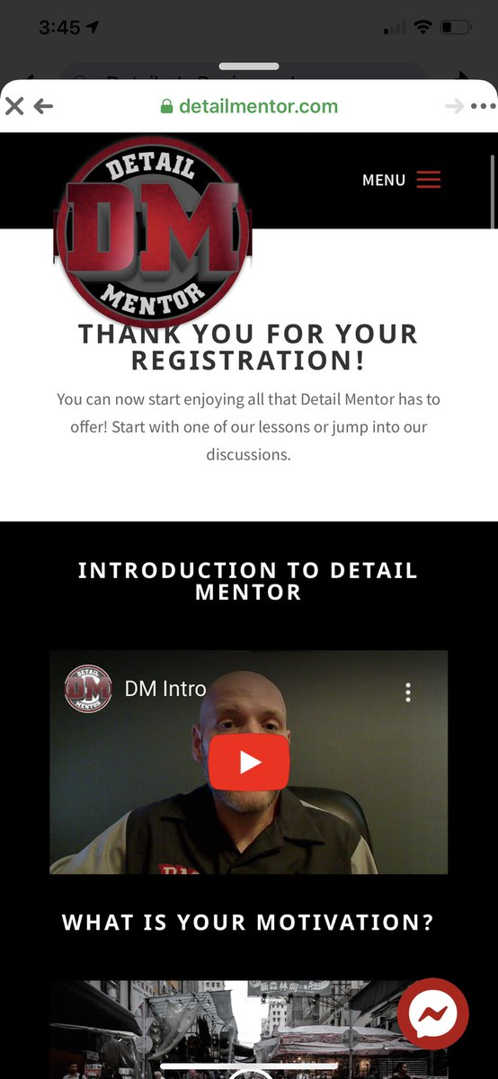 So I signed up for a detailing mentorship program to help me really dial in my business skills for this industry. #whatindetailnation<br>http://pic.twitter.com/Wb9qNQXeda