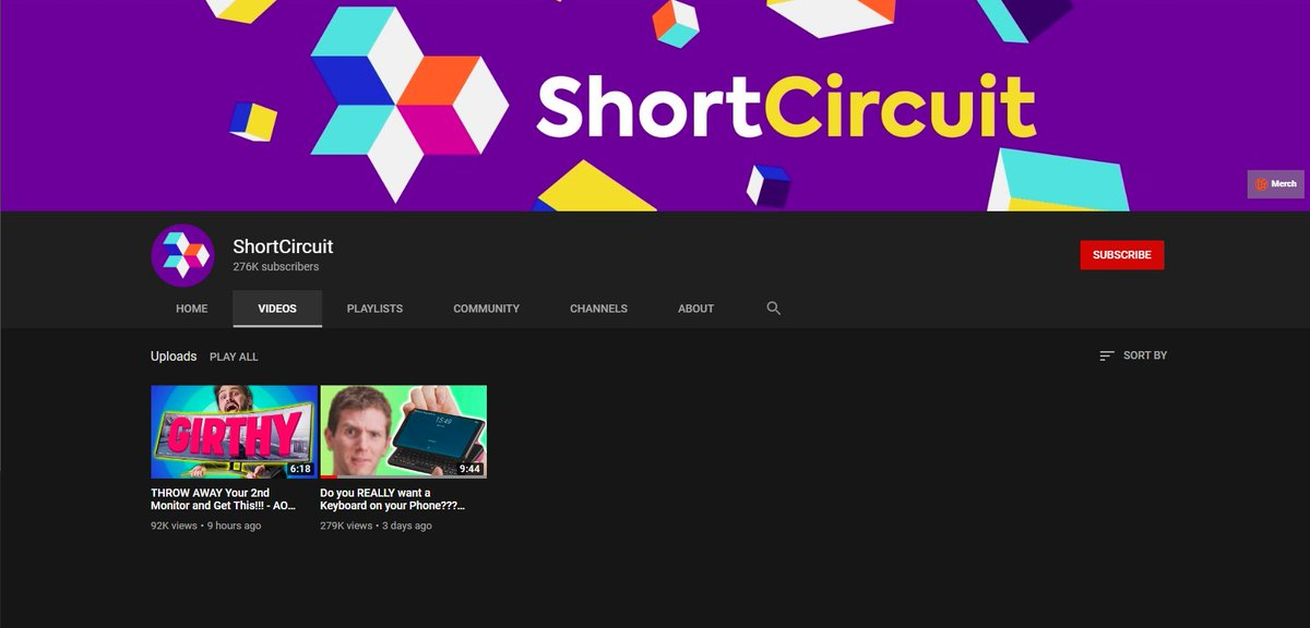 @LinusTech is this you or is someone stealin from you? They have almost 300k subs and 2 videos. lol the sub to view ratio on that phone is incredible. pic.twitter.com/R2ima2Vi4B