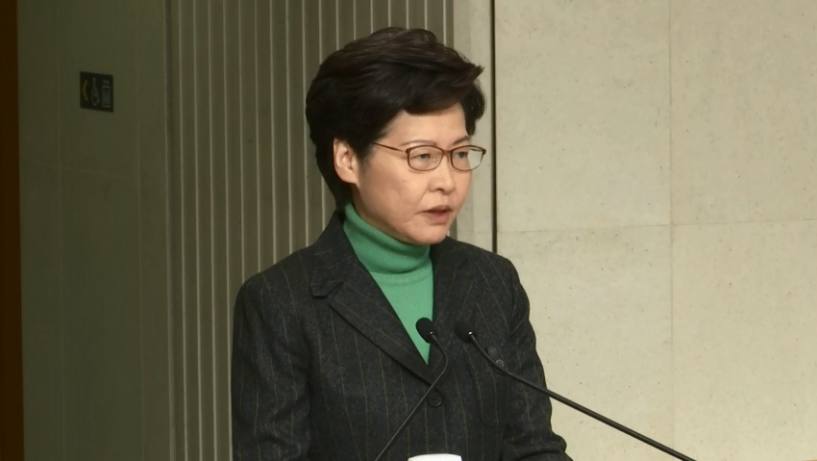 Chief Executive Carrie Lam says #HongKong will send two 438-seat chartered planes to #Tokyo's Haneda Airport on Wednesday to pick up 352 of its residents on #DiamondPrincess, of which 30 have tested positive for #COVID19. All of them will undergo 14-day quarantine upon arrival.