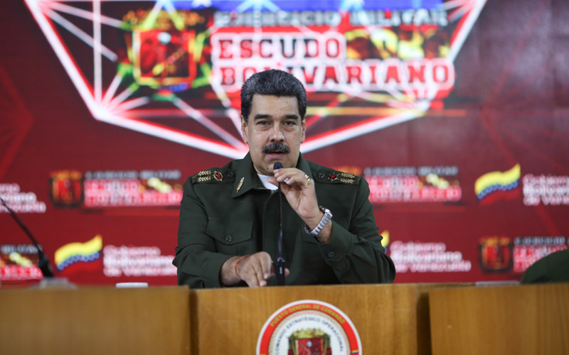 "Presidente Maduro ofreció balance de ejercicios militares ""Escudo Bolivariano 2020"" http://bit.ly/3bLq386  #Política #Venevision #Venezuela #NoticieroVenevisionpic.twitter.com/3FETLirqWK"