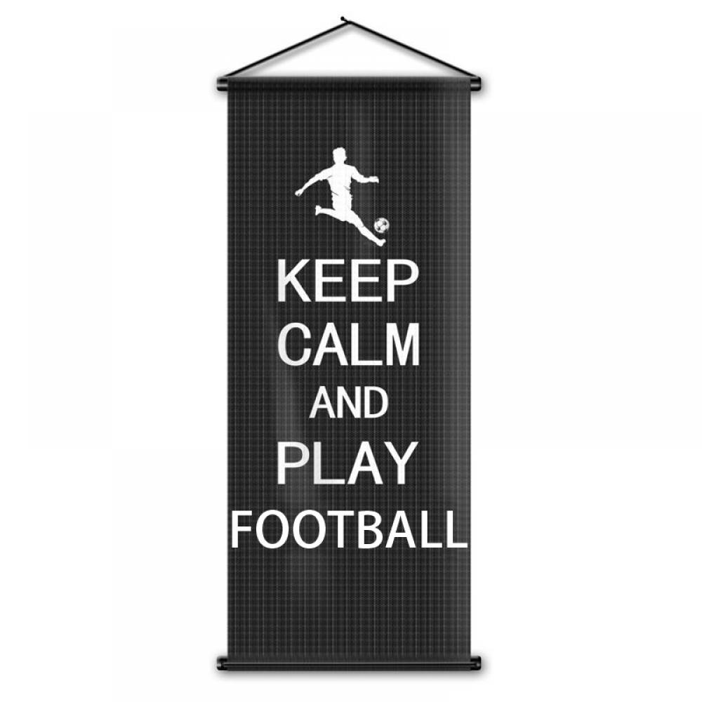 #footballwear #footballseason Keep Calm and Play Football Wall Banner https://footballbomb.com/product/keep-calm-and-play-football-wall-banner/…pic.twitter.com/OMUJfXqyX2