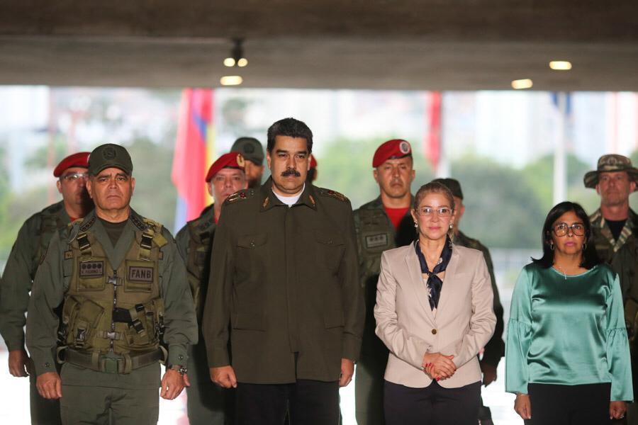 #RT @NicolasMaduro: ¡Éxito total el Ejercicio Escudo Bolivariano 2020! Contamos con una FANB científica, profesional, leal y patriótica, que está en la mejor situación para defender la Paz, la independencia y la integridad territorial de Venezuela. ¡Feli… pic.twitter.com/mofwNZ6vOD
