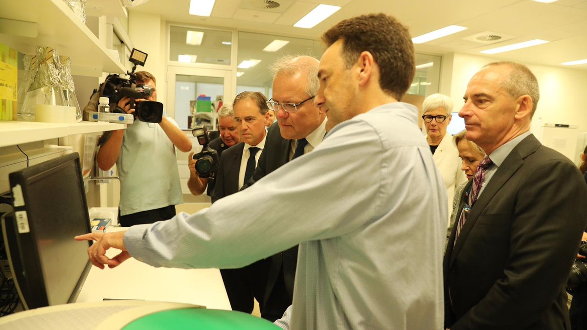Our Government is fast-tracking $2 million funding to support Australias best researchers to help develop a coronavirus vaccine ➡ aus.pm/7rx5