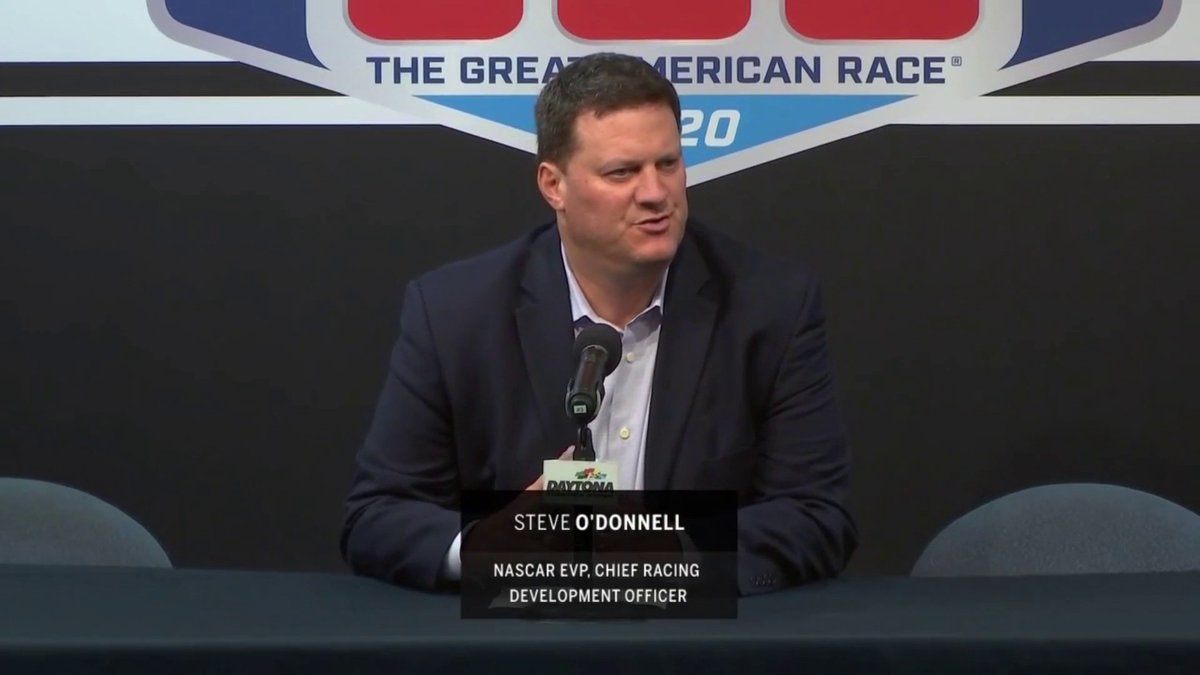 Image for the Tweet beginning: NASCAR provides an update on