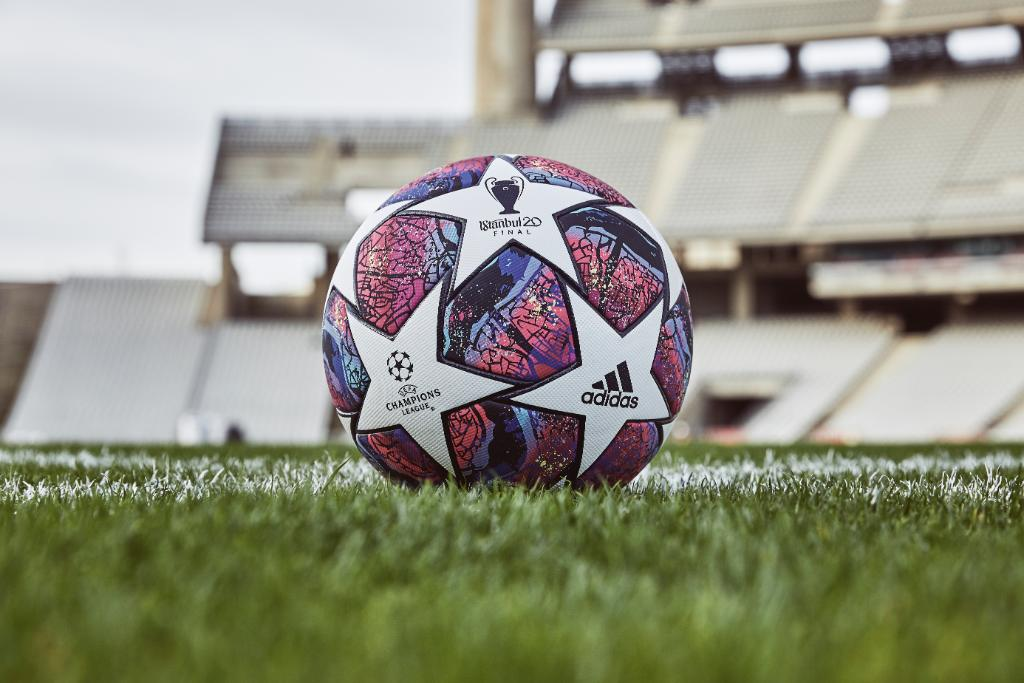Istanbul calling. Introducing the new @championsleague official match ball for the knockout stage of the 2019/20 season.