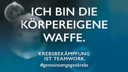 Morgen beginnt der #DKK2020 – ein Thema wird dabei auch die #Immunonkologie sein: Das #Immunsystem kann neben Viren auch Krebszellen erkennen und bekämpfen – es ist die körpereigene Waffe im Kampf gegen #Krebs. Wer oder was bist Du? #gemeinsamgegenkrebs https://bit.ly/2OXlE8fpic.twitter.com/DvSfogHa71