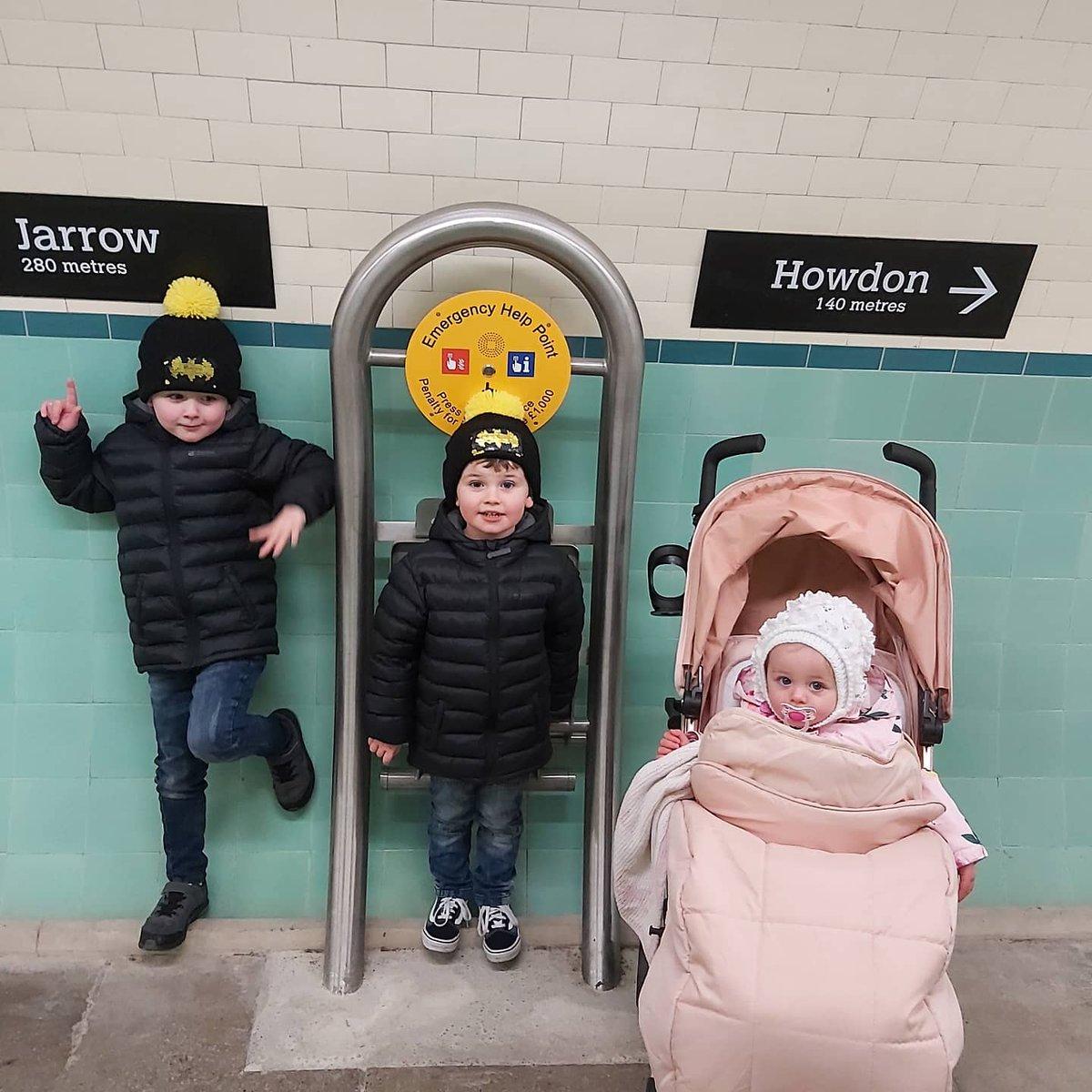 Pedestrian tunnel yesterday #jarrow #howdon