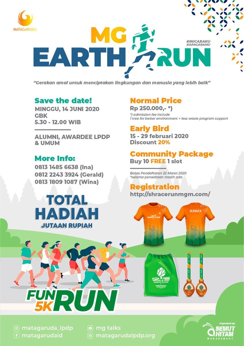 MG Earth Run • 2020