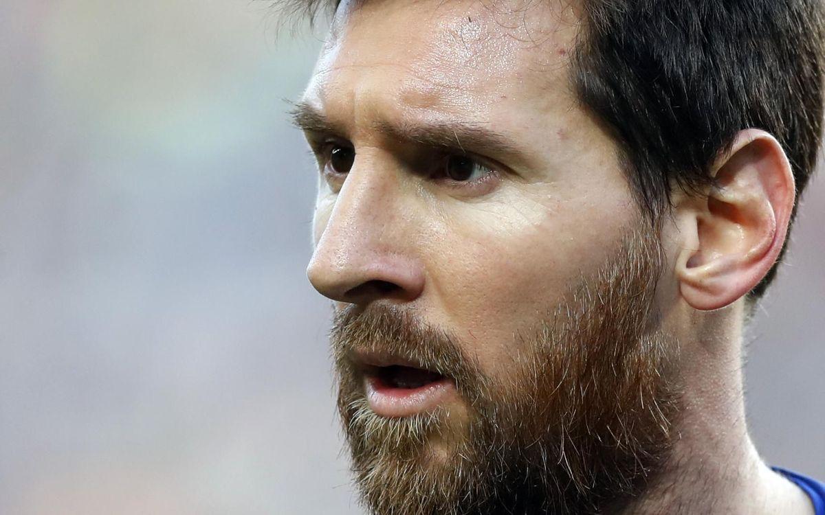 2019'da Leo #Messi 🐐:  ➖ Ballon d'Or ➖ FIFA The Best ➖ Altın Ayakkabı ➖ Pichichi ➖ UEFA Yılın Forveti      ➖ La Liga'da Yılın Futbolcusu ➖ FIFA Yılın 11'i   ➖ Laureus Yılın Erkek Sporcusu