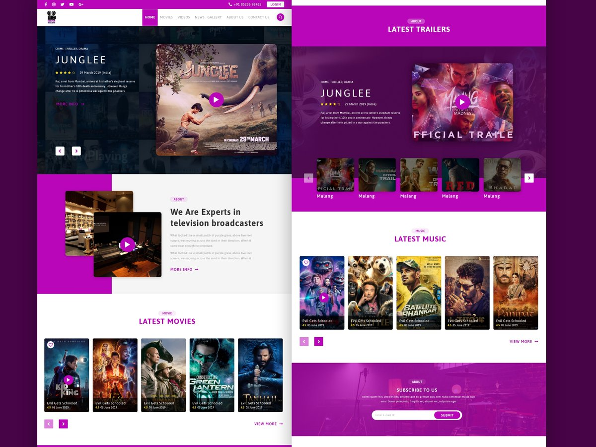 """I just Uploaded """"Movie Production Companies Websites"""" on @UpLabs   Download it here: https://www.uplabs.com/posts/movie-production-companies-websites-f788185d-36e9-4113-83e9-4c3a9d00e1d1…pic.twitter.com/doy80trgY1"""