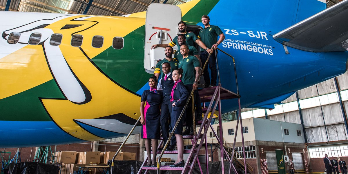 📝 Signed, sealed and delivered ✈ SA Rugby and FlySafair extend partnership 🔗 bit.ly/2P1etvU #StrongerTogether @FlySafair