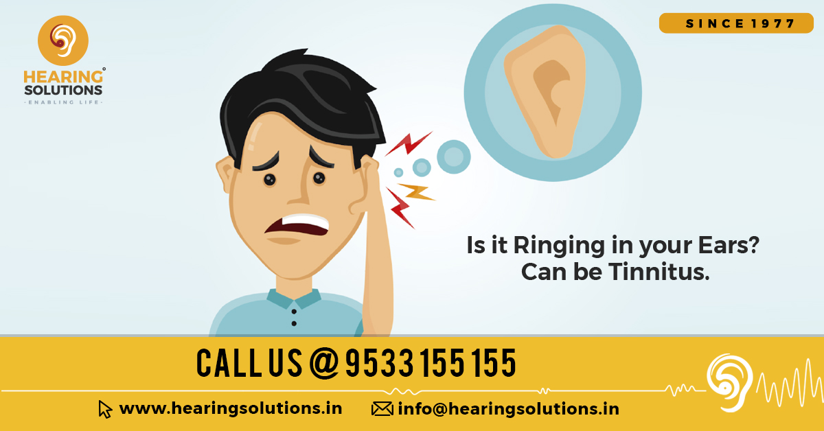 Ringing Sensation can be Tinnitus. It can lead to Permanent Hearing Loss. Call us now at 95331 55155 or Log in https://bit.ly/2ujuFS1 #hearingsolutions #hearingloss #health #audiology #hearingaids #hearingexperts #hearinglossawareness #ears #technologylover #technologytrendspic.twitter.com/Vi7Aj0i5gD