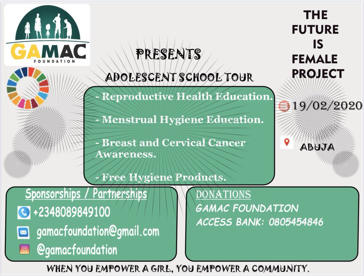 1 day   to visit the young girls of Army Day Secondary School in Mogadishu Barracks, Asokoro, Abuja. We are beyond thrilled  You can still be a part of this project!!!  @GretaThunberg @DrRamatuAliyu @ossap_sdgs @HamzyCODE @hameedah4455 @GamacFoundationpic.twitter.com/IHsl8INDT8