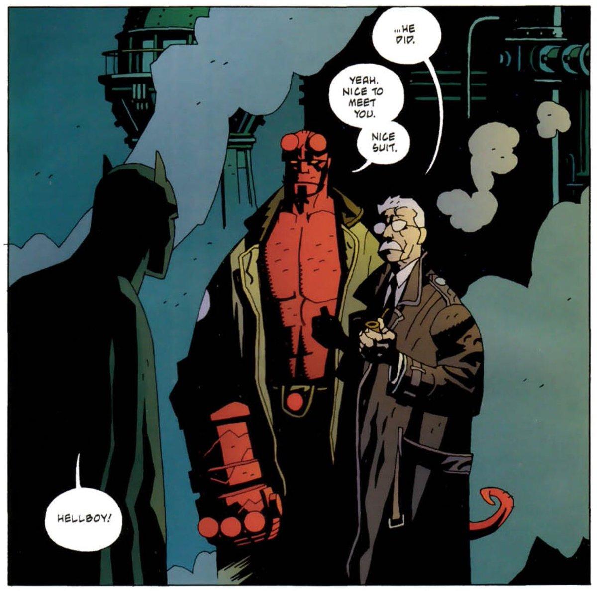 Easy.  #Hellboy #Batman & #Starman https://twitter.com/selinakravitz/status/1229595572472078337…pic.twitter.com/aH5EzUcG4o
