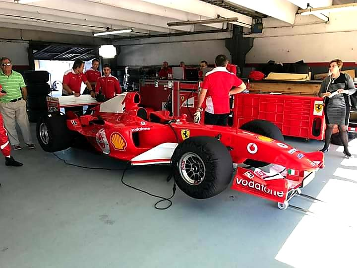 #F1 #Ferrari #Schumacher #PerezCompanc #BuenosAires #Argentina