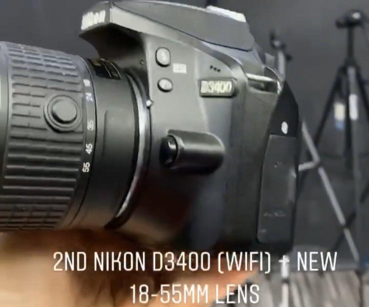 Used Nikon D3400+18-55mm lens - strap - charger - Batteri  lelong Murah2  Condition : Used Unit  Warranty : 1 Bulan Warranty. .  Whats App : 0192400676  #canon650d #650d  #DSLR  #canonlens #mirrorlesscamerapic.twitter.com/6Bv2kM0Jfx
