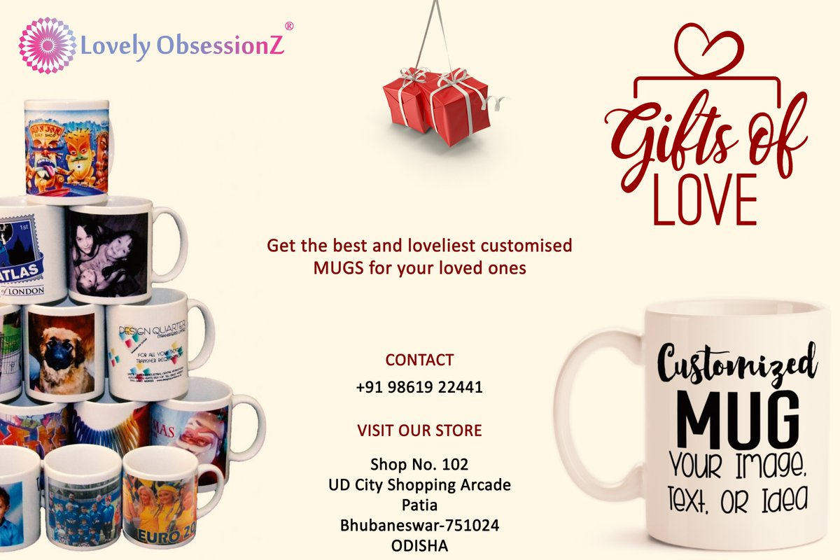 Find the best moments of choosing best gift❤.  Find the best customized gifts for the special occasions:   #Gift #Giftshop #Occasion #Customizedgift #Coffemug #Perfectgift #Surprisegift #Birthday #Order #Today #Visit #Lovelyobsessionz #Bhubaneswar