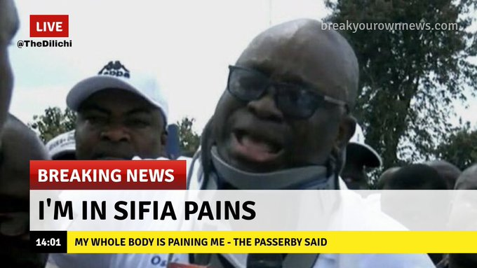 Me: The University of Nairobi made some of us who we are today as serious contributors to social good of our nation. However, to reclaim her rightful position UON must reengineer.  Current student:...it's painful  #uonnimechokapic.twitter.com/HWvLkUlpqU