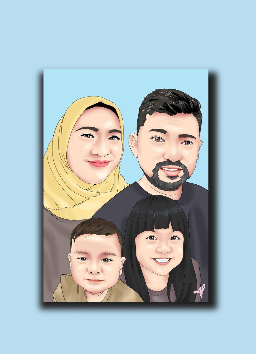 Thanks for order family portrait  #art #opencommission #openorder #vectorart #vexelart #illustration #digitalart #familypic.twitter.com/xPSFvQGoBT