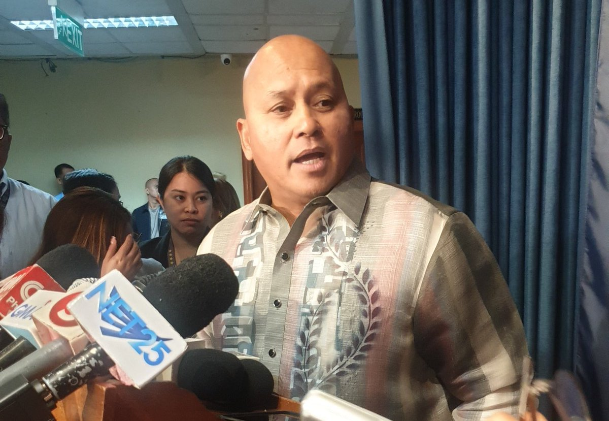 """Bato on ABS-CBN franchise renewal: """"I will live and die with my President. May bias ako towards my Pres.""""  This is when we all lose - when we have a legislator who is not impartial, who is dictated by someone, who advances personal interest. I feel so sorry for our country."""