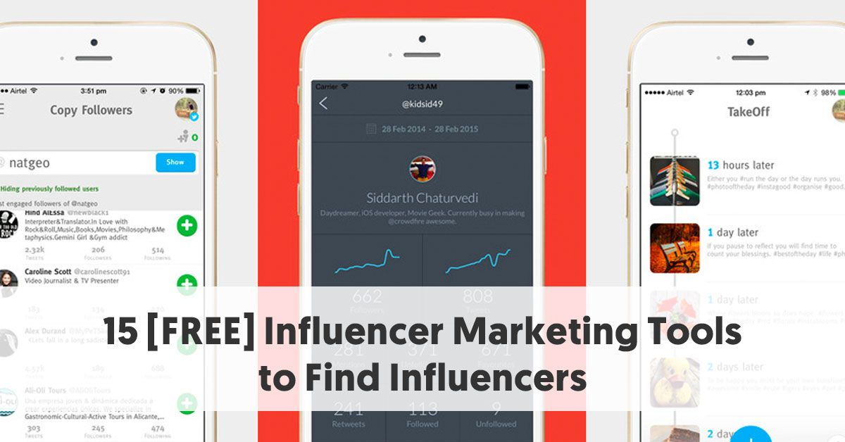 Use these 15 free #InfluencerMarketing Tools to Find Influencers via @influencermh  https://buff.ly/36mTiurpic.twitter.com/EpEzqD41ky