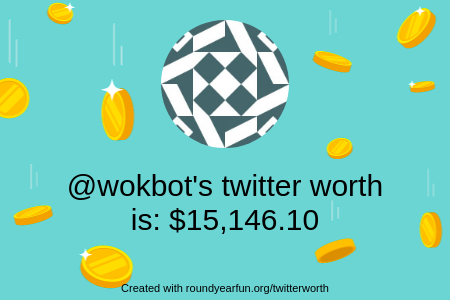 My Twitter worth is: $15,146.10 Find yours with clockurl.co/key/twitterwor… ⠀