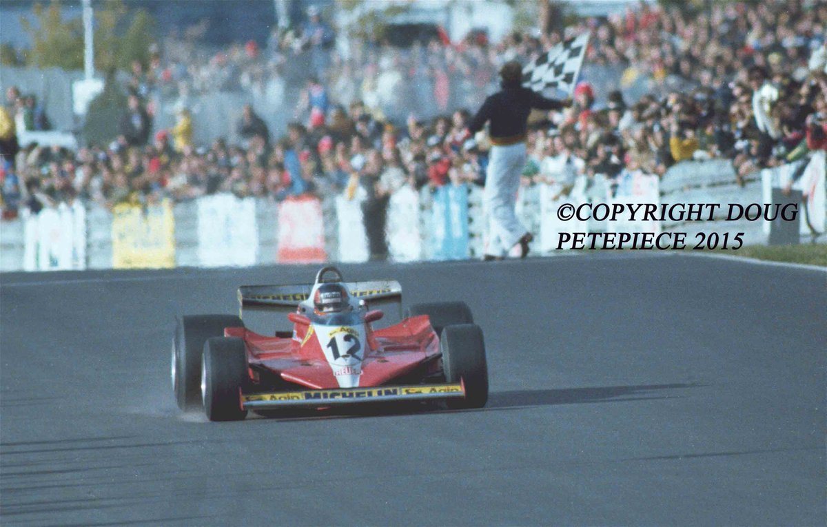 Canadian Lance Stroll following in the foot steps of late Gilles Villeneuve winner of first Canadian Grand Prix at Montreal #Formula1  #CanadianGrandPrix #salutgillespic.twitter.com/7jeajS22qr