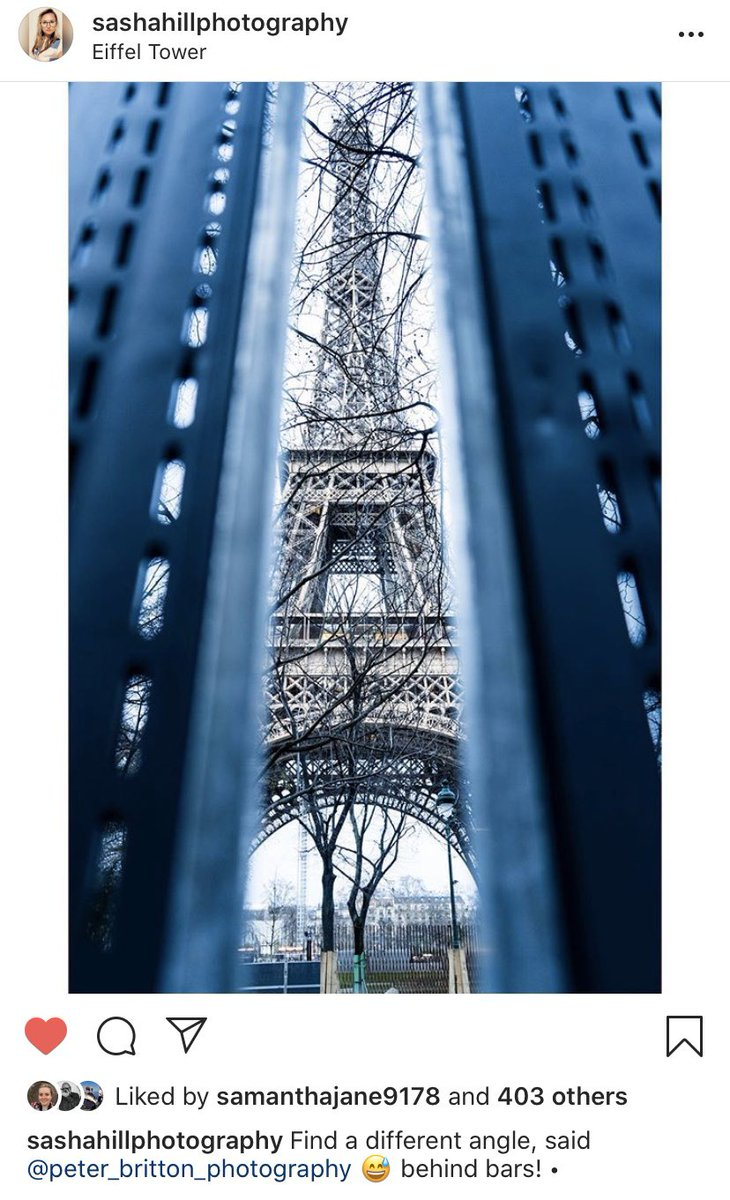 Great shot by 1st year students Sasha Hill from our Paris trip last week. @maria_retter @coleggwent #photographydegree pic.twitter.com/F4cNTgLsBx