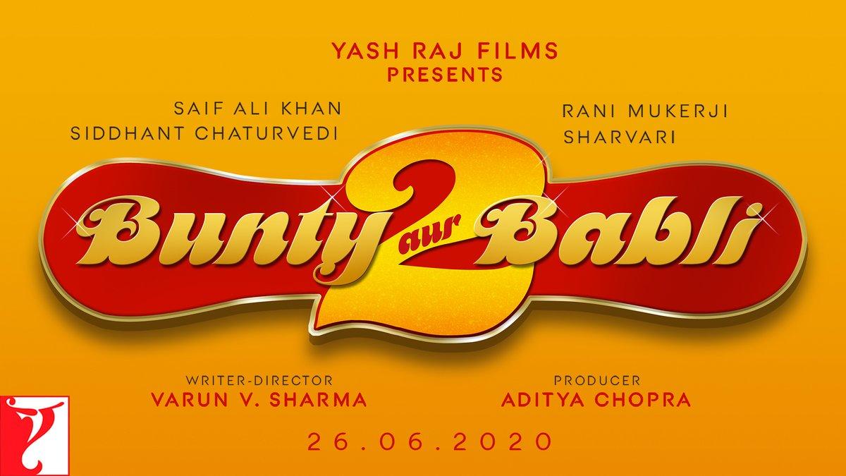 They'll con you when you least expect it! #BuntyAurBabli2 in cinemas on 26th June, 2020.  #SaifAliKhan #RaniMukerji @SiddhantChturvD #Sharvari #VarunVSharma @yrf