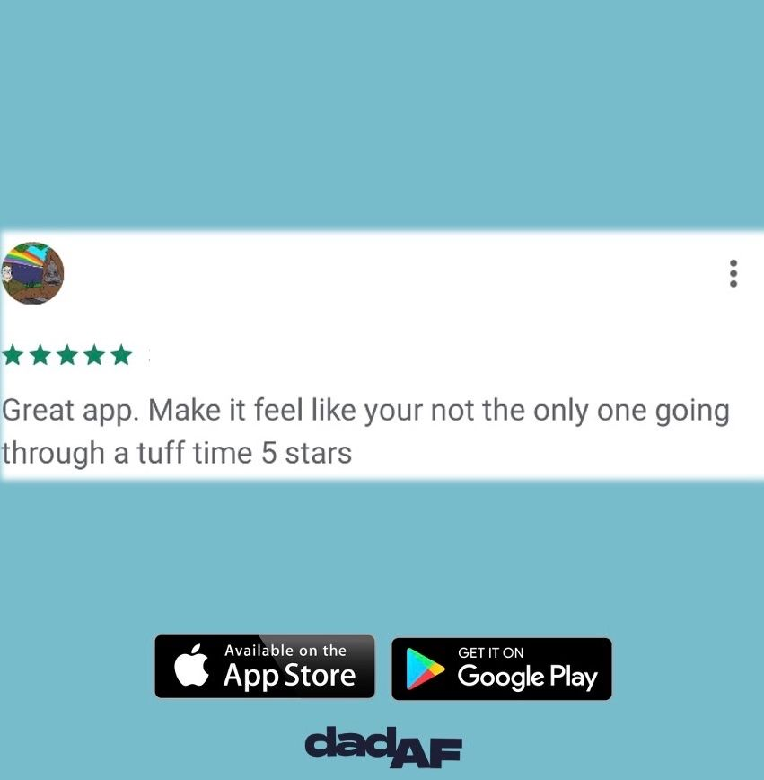 Thank you for all the reviews dads ⠀⠀ •⠀ Download on App Store and Google Play Store today!⠀ •⠀ •⠀ •⠀ #dad #dadaf #dadlife #app #review #dads #dadyougotthis #advice #guidance #tips #tricks #dadcommunity #dadnetwork #fivestarspic.twitter.com/cH979ebN7a
