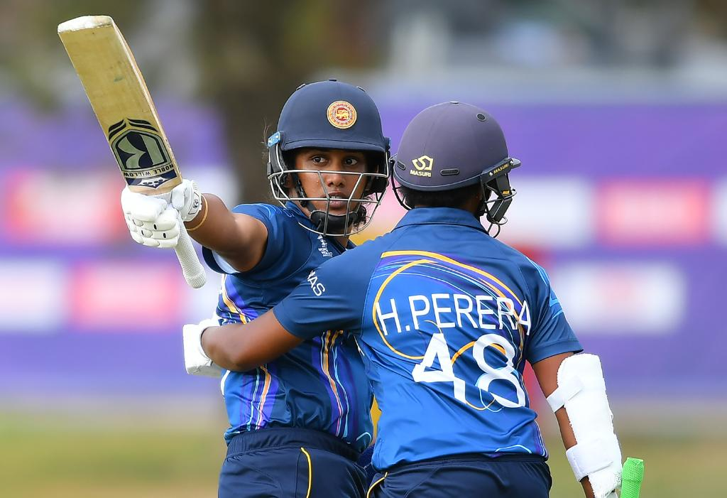 5️⃣0️⃣ balls, 8️⃣ fours, 5️⃣ sixes, 7️⃣8️⃣* runsSri Lanka captain Chamari Athapaththu was in that kind of mood today as she blasted her side to a ten-wicket win over England in their @T20WorldCup warm-up clash.