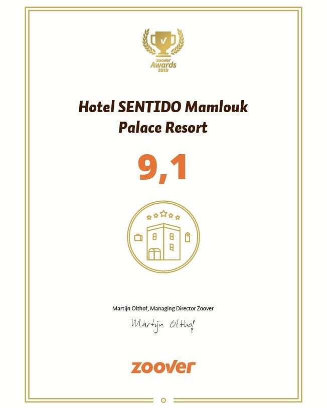 We proudly announce receiving the Golden Zoover Award for our service in 2019. We would like to thank all our guests for the amazing reviews and we're on to the upcoming season!  #zooveraward #MamloukPalace #SUNRISEResorts #hurghada  #awardwinner #thankyou #weloveourguests