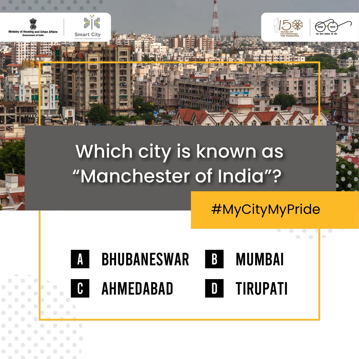 #ContestAlert Participate in the #EaseofLiving2019 survey with #MyCityMyPride. Get rewarded for your honest opinions.  Survey link http://bit.ly/2U6sjk8   Like, share and tag your friends to stand a better chance of winning. @easeofliving19