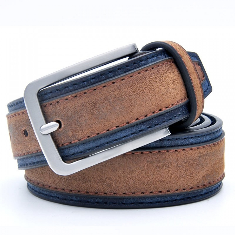 #likeback #instagram #instacool #webstagram #followher #likesforlikes #jewelry Casual Patchwork Leather Belt for Men
