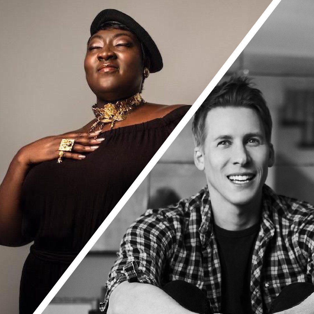 🥁 ANNOUNCING OUR HEADLINE SPEAKERS 🥁  @DLanceBlack and @MsLadyPhyll in conversation with our ambassador, BBC broadcaster @EvanHD 🎉  This exclusive interview will be a live episode of our #QueerAF podcast 🎧  We are PSYCHED 🤩 https://t.co/tDzoVnaZm3