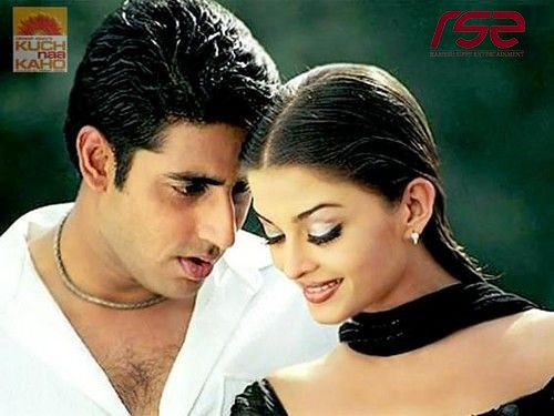 A love that completes you ! @juniorbachchan and #AishwaryaRaiBachchan . . #kuchnakaho #abhishekbachchan #Aishwaryarai #romance #acchilagtiho #song #romantic #chemistry #bollywood #film  Double tap if you love them ❤ !