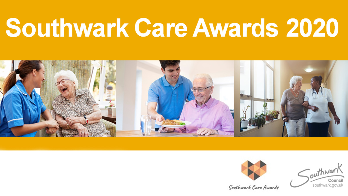 The Southwark Care Awards celebrates carers across the spectrum who look after an adult in the borough and the impact that these everyday heroes have in our local communities. Know someone who deserves to be recognised? Nominate today http://bit.ly/31m5CtA pic.twitter.com/4JjB46ES6n