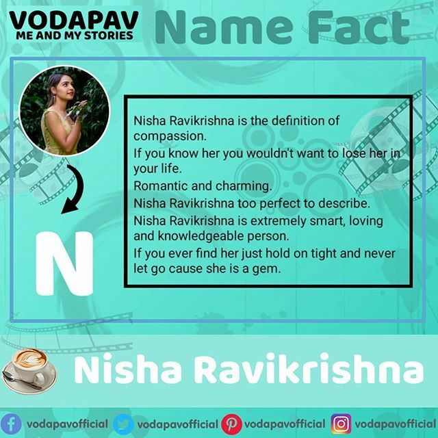 Name Fact @nisha_milana #nisha #namefact #namefacts #namefacts2019 #kannada #kannadaserials #vodapavfact #vodapavofficial #vodapav #gattimela #gattimelaserial @vedhya_aarvi_holics @gattimela._.777 @gattimela_is_love_______ @gattimeela_official_fp @gattimela__holics @gattimel…pic.twitter.com/nvcM6BILw7