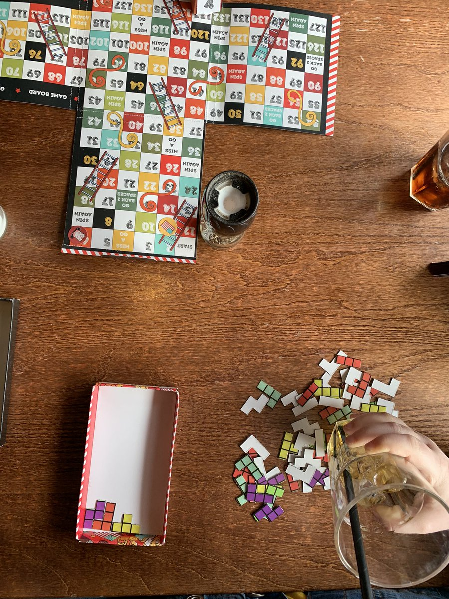 New games @TGIFridaysUK - well designed & good fun (great restaurant for GF options too)