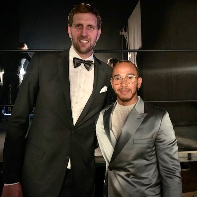 Congratulations Dirk @swish41 on your lifetime achievement award and amazing career. You are an inspiration to so many people around the world. Enjoy this moment, I am grateful I got to witness you being acknowledged as the legend you are👊🏾🙏🏾 https://t.co/QMY1Zwo6a9