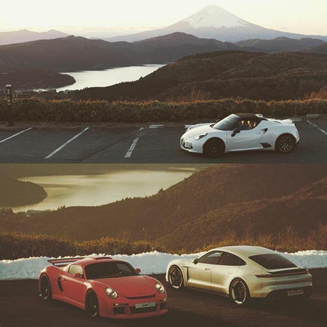 ゲームのお気に入りフォトスポット4Cで行ってきた。時間も合わせたよ  #car  #auto  #sportscar  #supercar  #alfaromeo  #alfaromeo4c  #gtsport  #アルファロメオ  #アルファロメオ4c  #フォトスポット https://ift.tt/2vKuf7w
