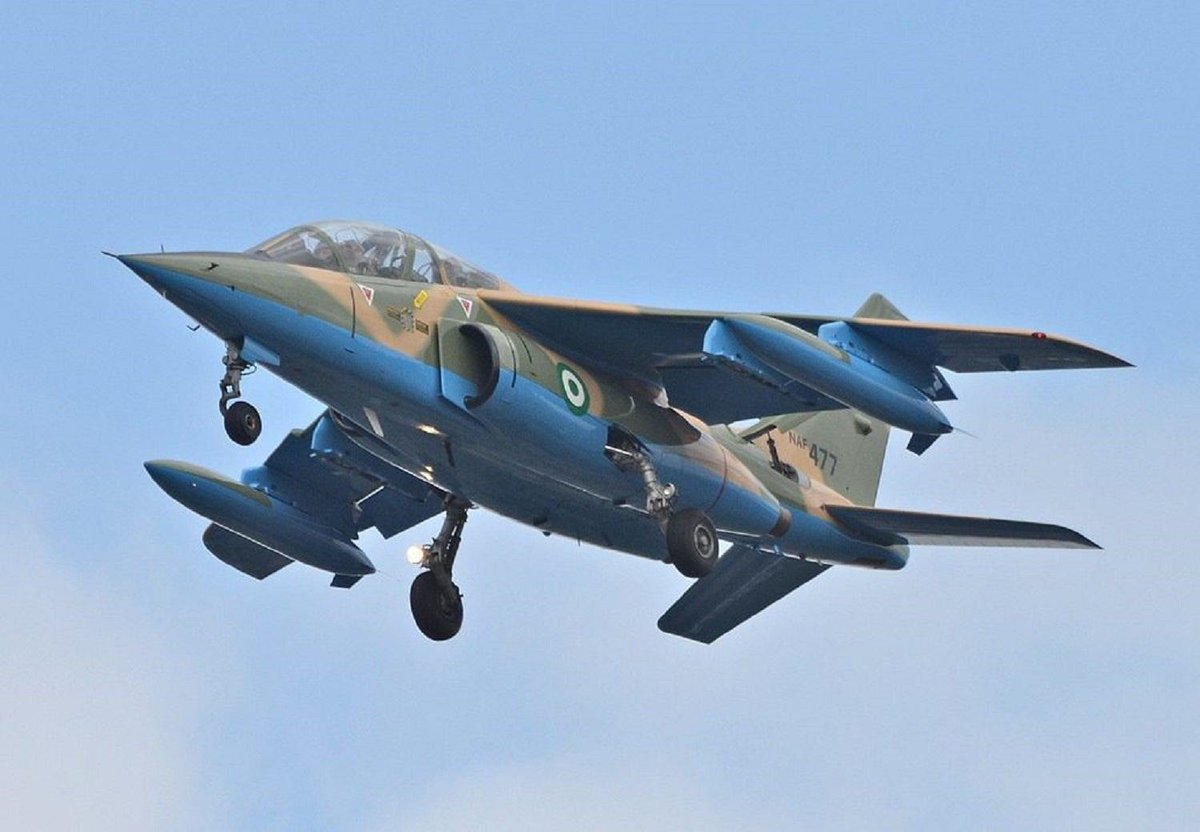 NAF destroys another ISWAP training camp in Borno  #vanguardnews