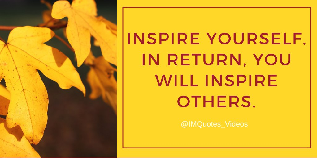 RT IMQuotes_Videos: Discover the things that inspire you, become the best you can be at the things you are passionate about; others will take notice.   #TuesdayMotivation pic.twitter.com/pgWHfqfWRj #Motivation #Personal Growth