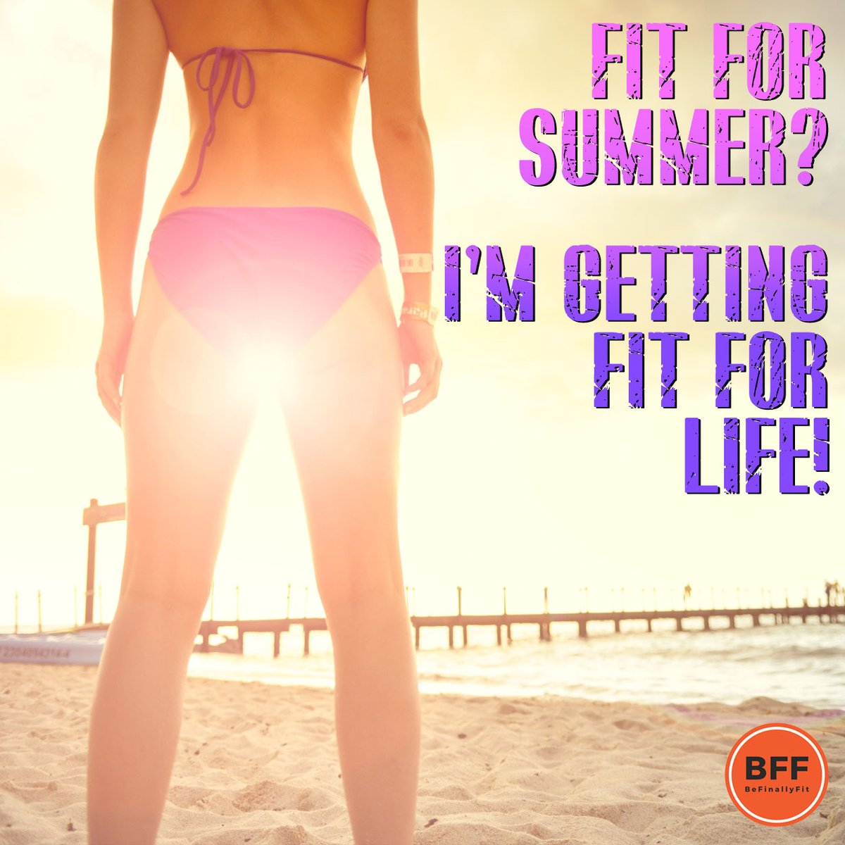 You want to get fit for summer? Get your goals on getting fit for life!...#befinallyfit #bff #tuesdaymorning #tuesdaytips #tuesdayvibes #fitnesstip #fitquote #weightloss #weightlossjourney #loseweight #fitness #fitnessmotivation #weightlossforwomen ##diet #fitnessisawayoflife